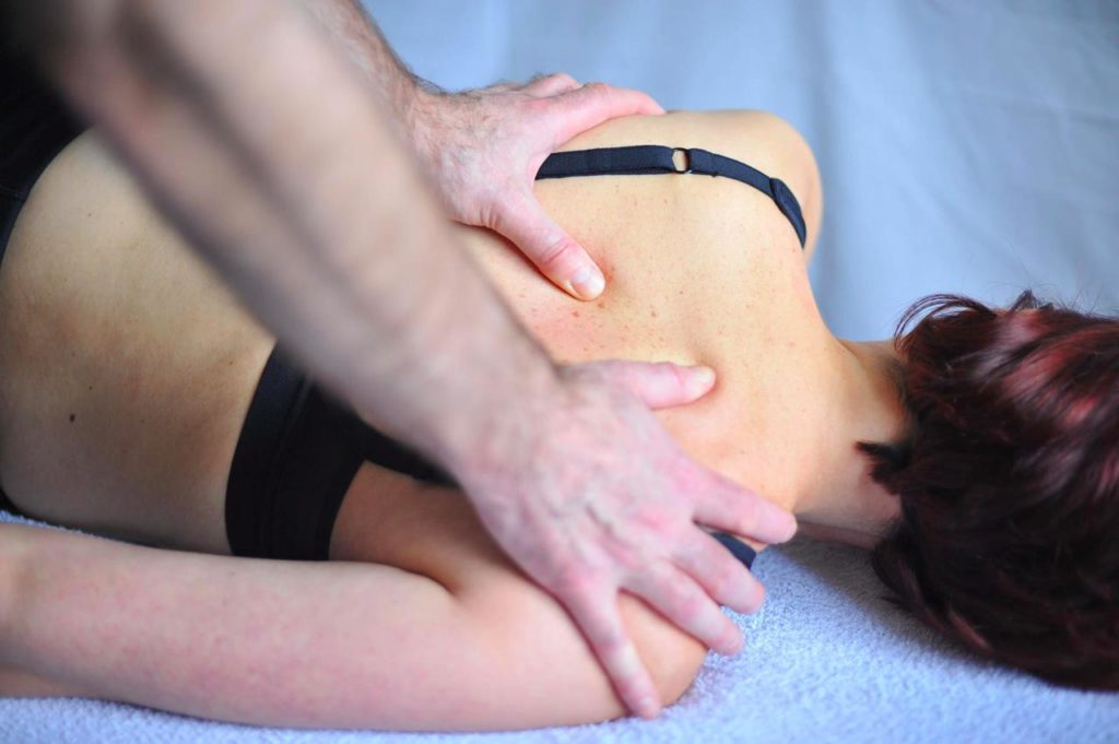 Rolfing and back work