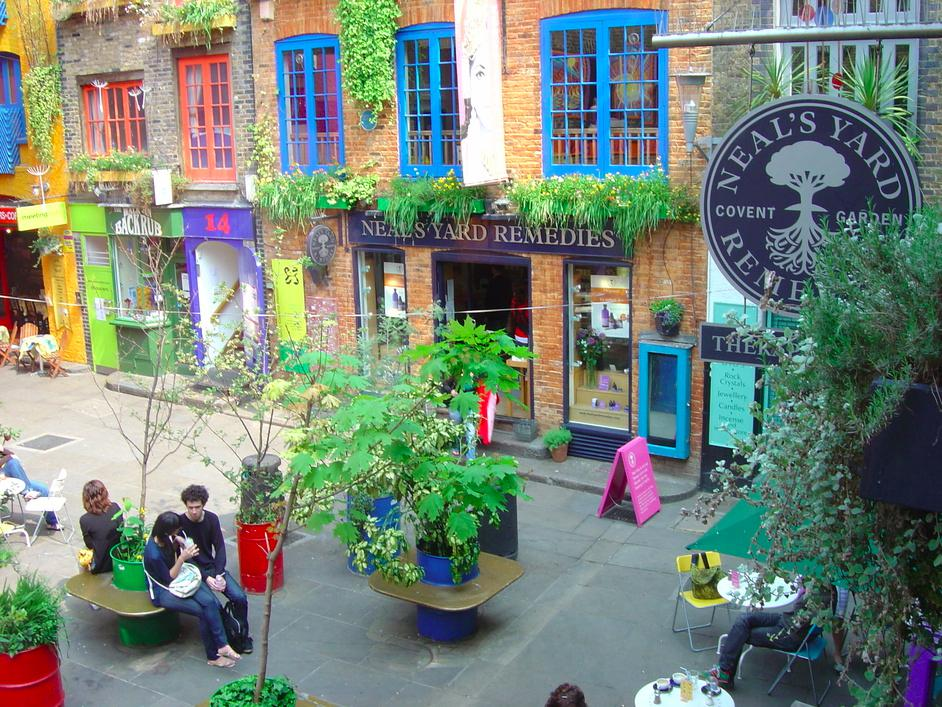 Neals Yard Therapy rooms